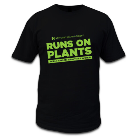 Runs on Plants Mens - NZ Vegetarian Society